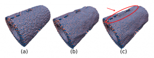 Fracture Patterns of Boron Nitride Nanotubes