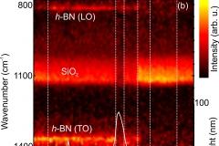 """Graphene/h-BN Plasmon-phonon coupling and plasmon delocalization observed by infrared nano-spectroscopy."" Nanoscale (Print), v. 7, p. 11620-11625, 2015."