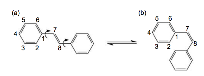 Comparative parametric method 6 (PM6) and Recife model 1 (RM1) study of trans-stilbene