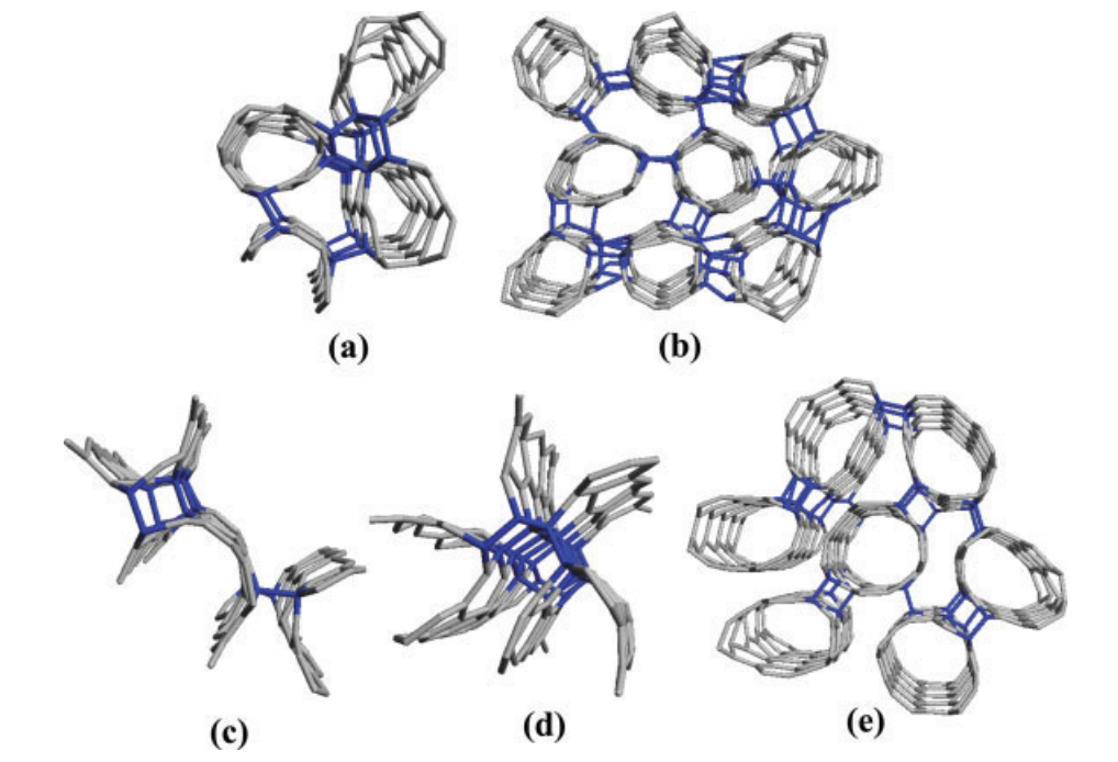 Molecular dynamics simulation of single wall carbon nanotubes polymerization under compression