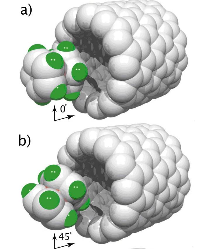 Cobaltocene encapsulation into single-walled carbon nanotubes: A molecular dynamics investigation