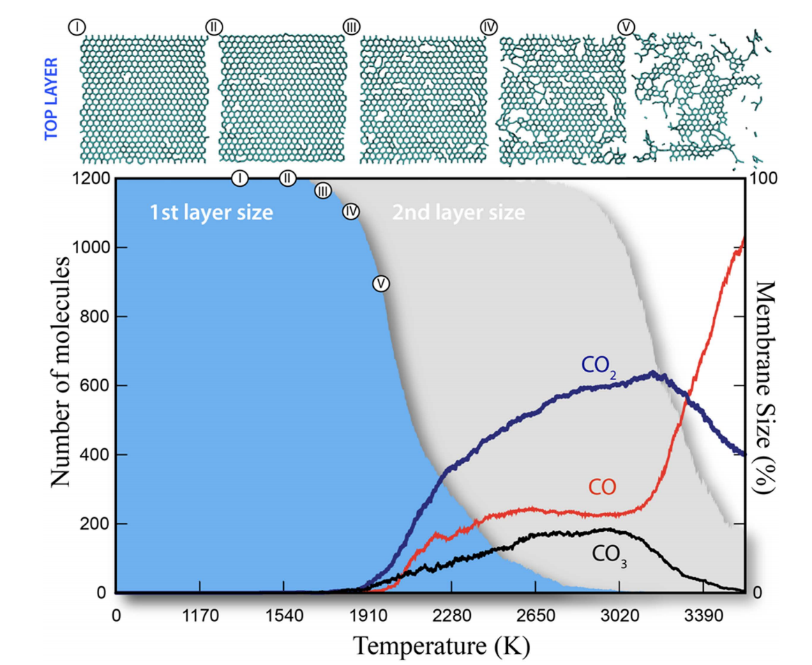 Burning Graphene Layer-by-Layer