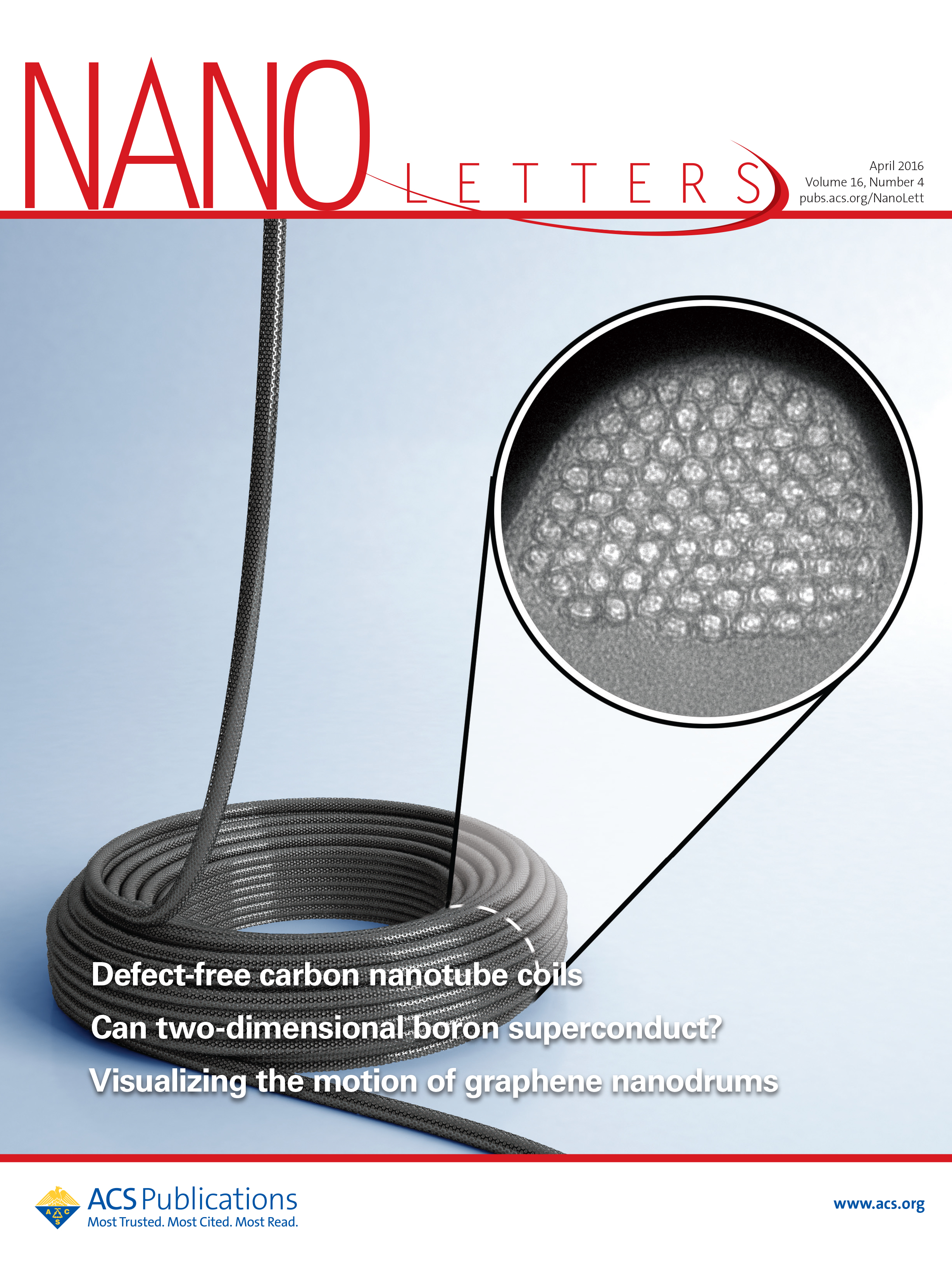 Defect-Free Carbon Nanotube Coils