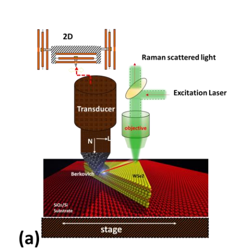Nanoscale deformation and friction characteristics of atomically thin WSe2 and heterostructure using nanoscratch and Raman spectroscopy