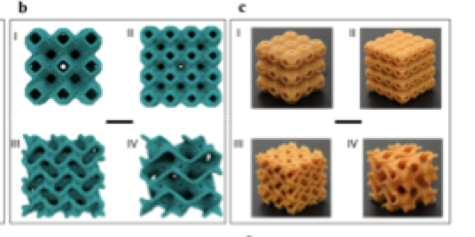 Multi-scale Geometric Design Principles Applied to 3D Printed Schwartizes