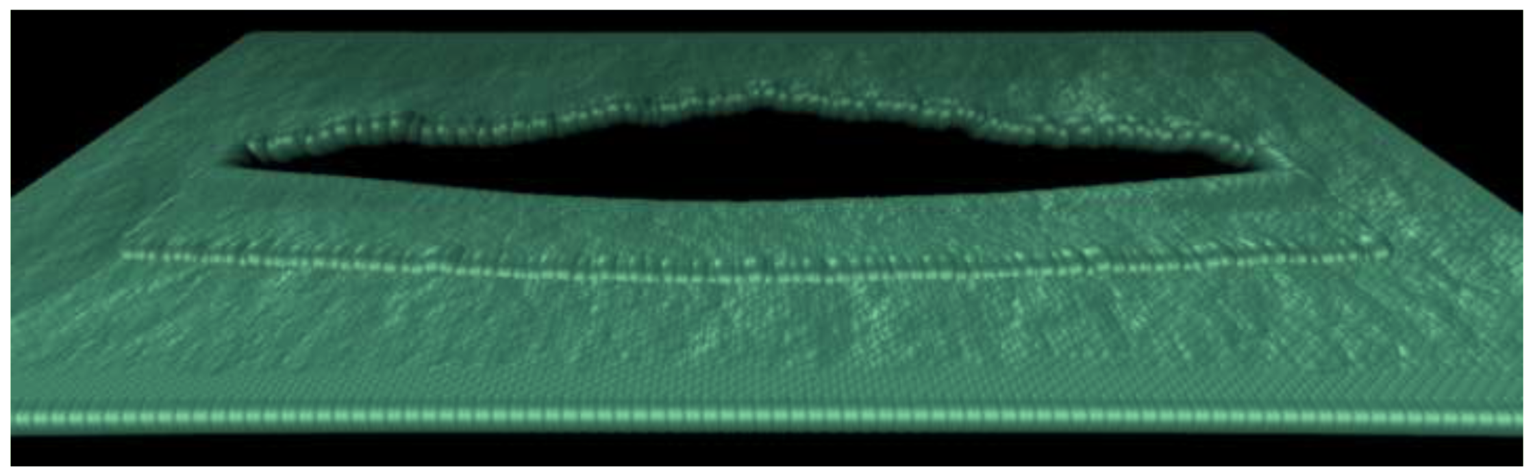 Self-tearing and self-peeling of folded graphene nanoribbons