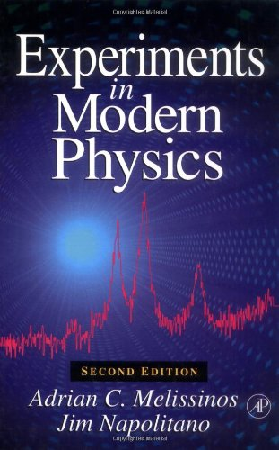 melissinos and napolitano experiments in modern physics pdf