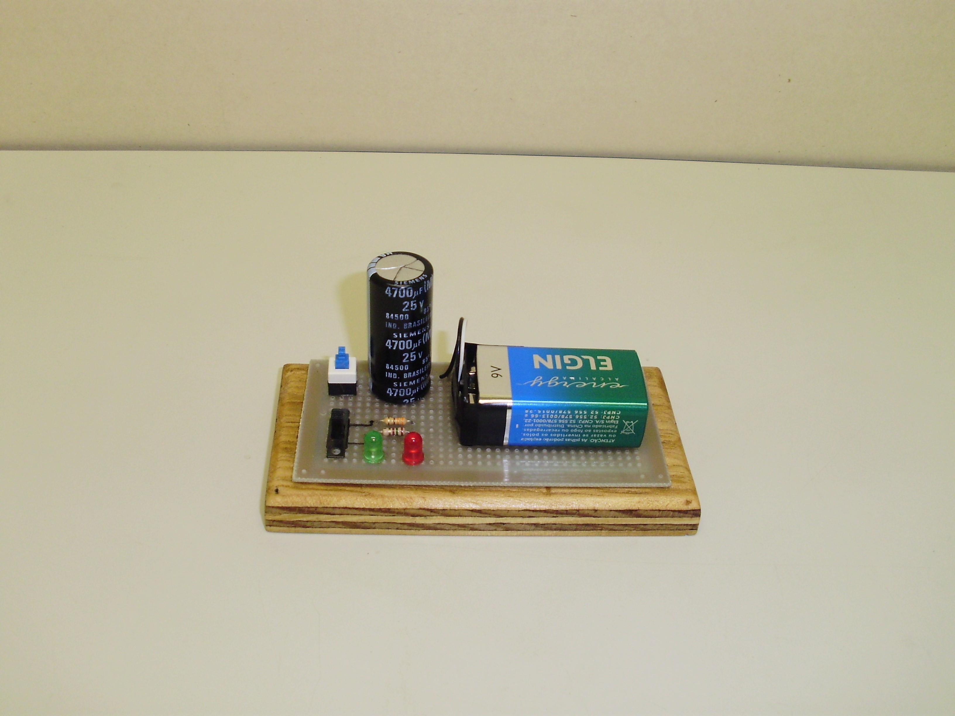 Circuito Rc : Circuito rc u2013 carga e descarga de capacitores u2013 lief u2013 lab. de